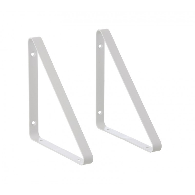 Ferm Living Metal Shelf Hangers Hyldeknægte i Hvid-31