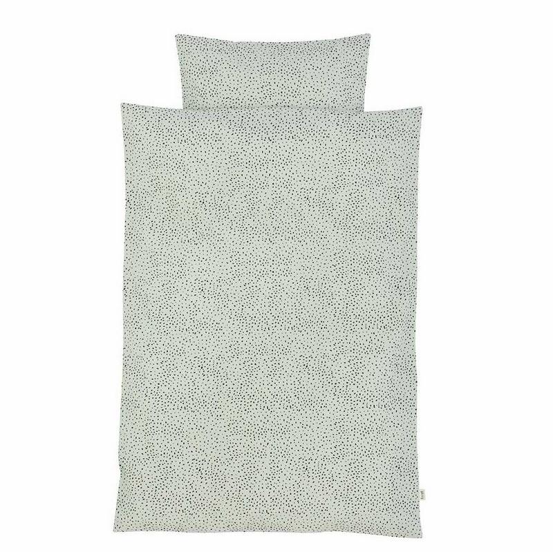 Ferm Living Sengetøj Dot Mint Junior-31