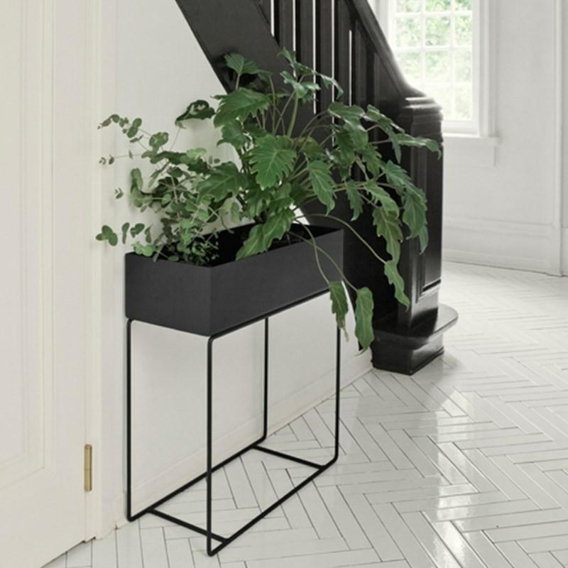 Ferm Living Plant Box Dark Grey-31