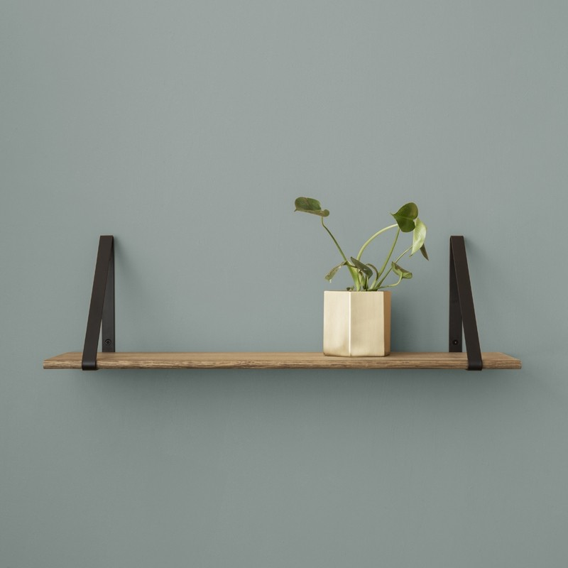 Ferm Living Metal Shelf Hangers Hyldeknægte i Sort-31
