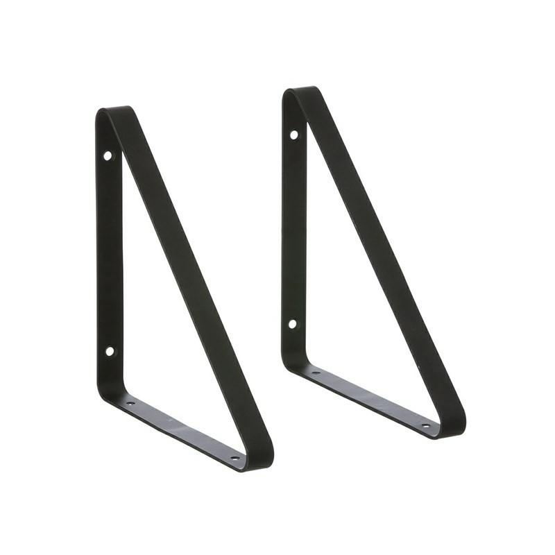 Ferm Living Metal Shelf Hangers Hyldeknægte i Sort-31