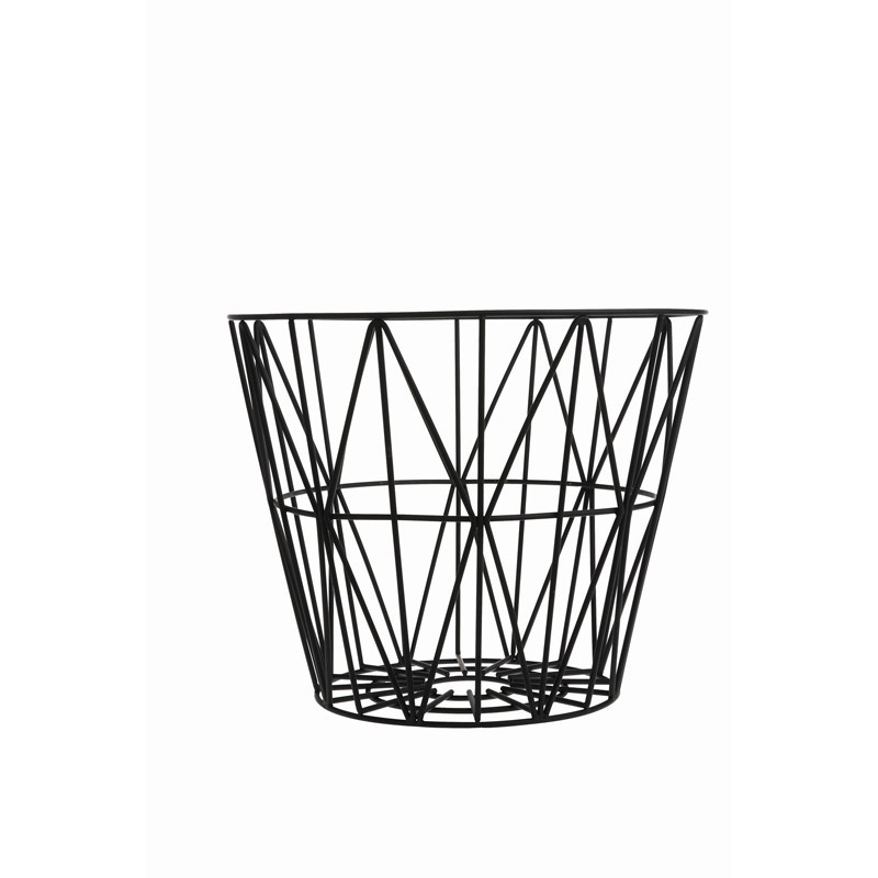 Ferm Living Wire Basket Small Sort-31