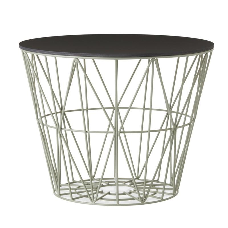 Ferm Living Wire Basket Top Medium Sort Eg-31