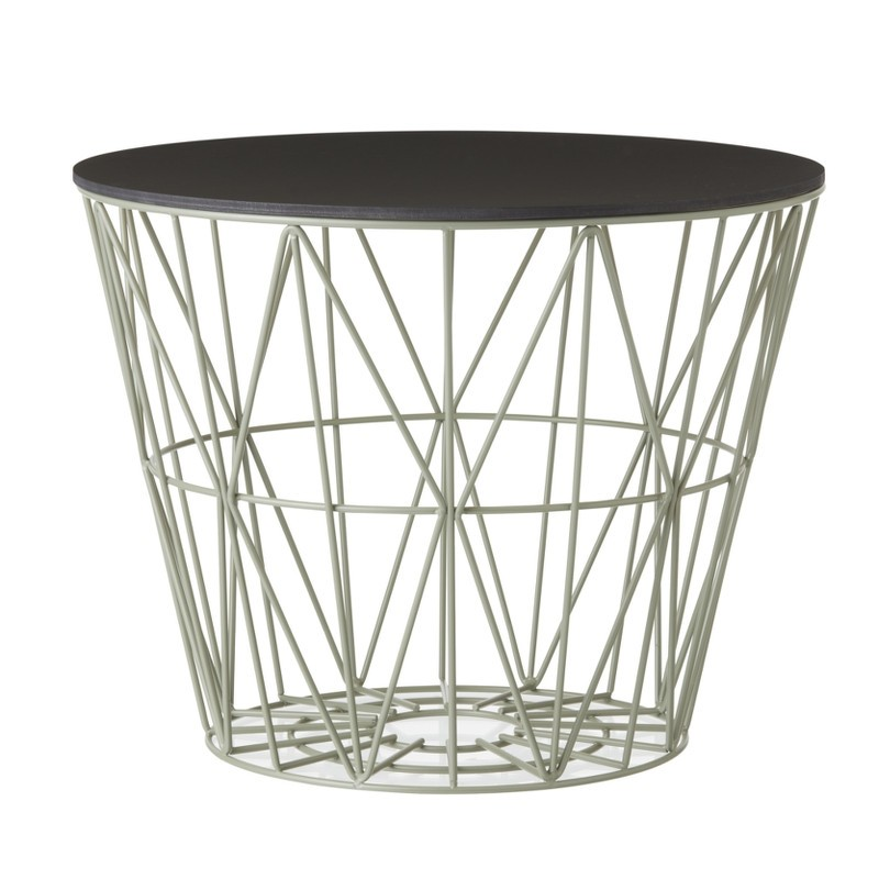 Ferm Living Wire Basket Top Small Sort Eg-31