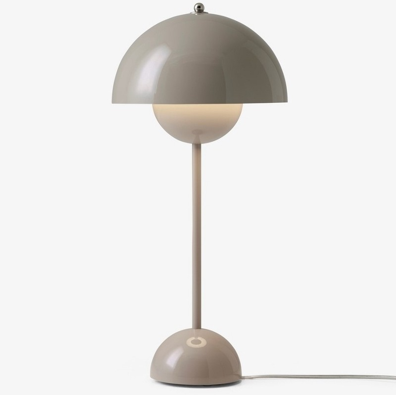 andtradition Flowerpot bordlampe VP3 Grey Beige-31
