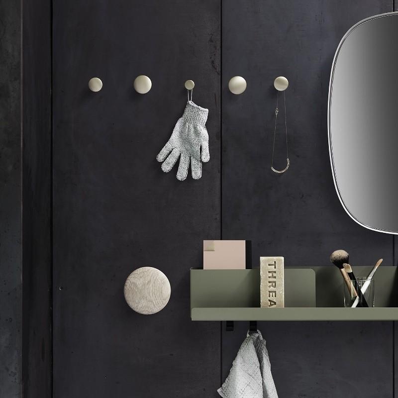 Muuto Folded Shelves Hylde Medium Oliven Grøn-31