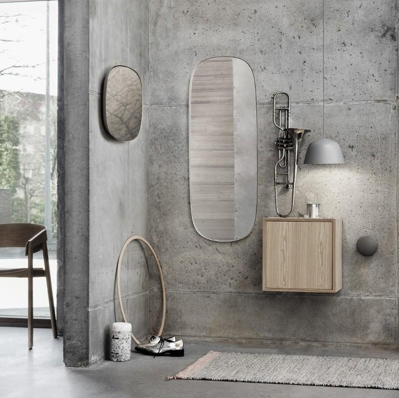 Muuto Spejl Framed Mirror Large Grey/Clear-31