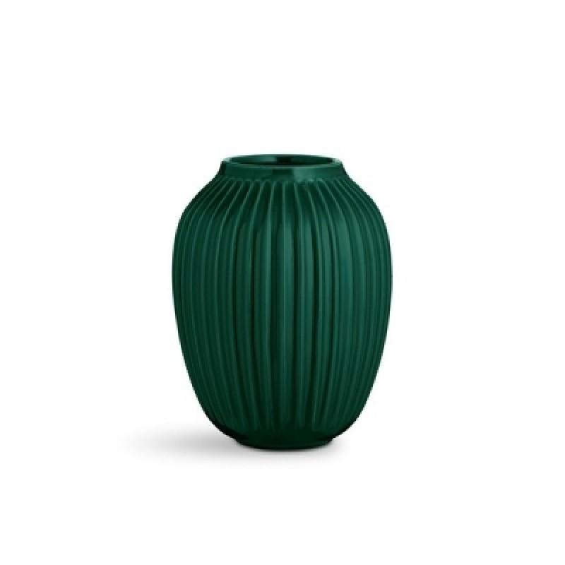 Kähler Hammershøi Vase H250 Grøn-31