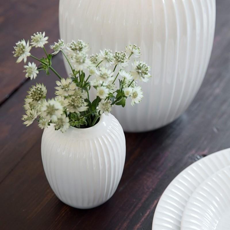 Kähler Hammershøi Vase H125 Hvid-31