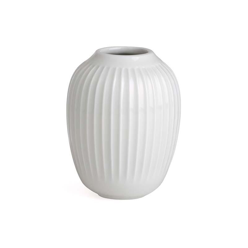 Kähler Hammershøi Vase H10 cm Hvid-31