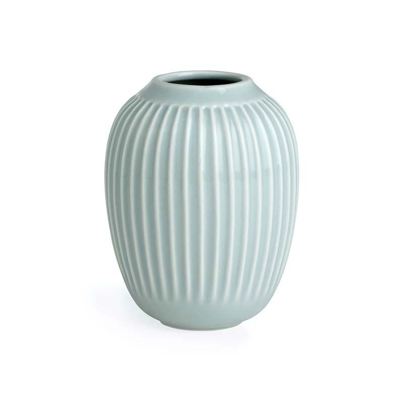 Kähler Hammershøi Vase H10 cm Mintgrøn-31