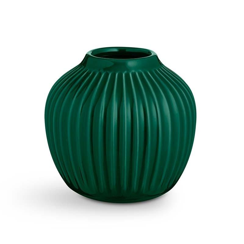 Kähler Hammershøi Vase H12,5 cm Grøn-31