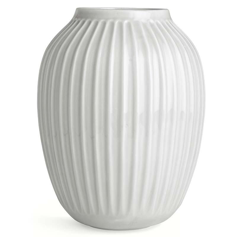 Kähler Hammershøi Vase H25 cm Hvid-31