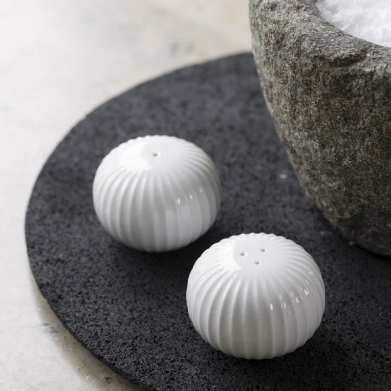 Kähler Hammershøi Salt og Pepersæt Hvid-31