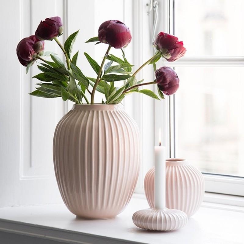 Kähler Hammershøi Vase H12,5 cm Rosa-31