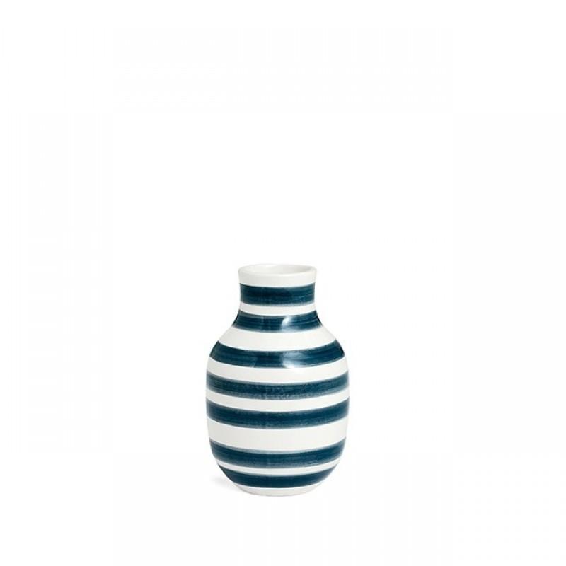 Kähler Omaggio Vase H125 Sølv-31