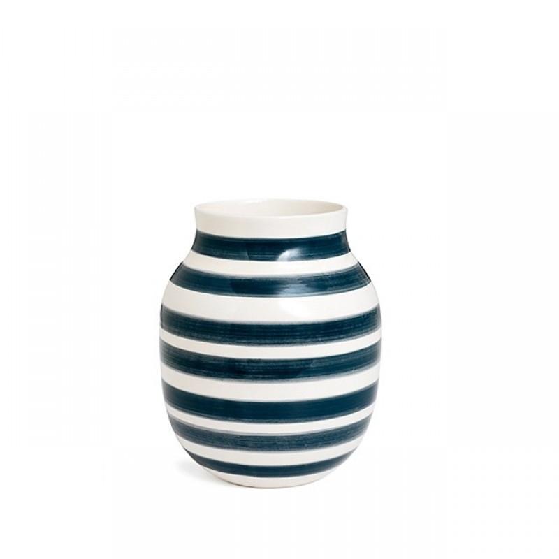 Kähler Omaggio Vase H200 Granitgrå-31