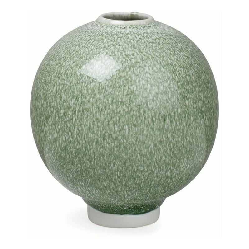 Kähler Unico Vase 12,5 cm Mosgrøn-31