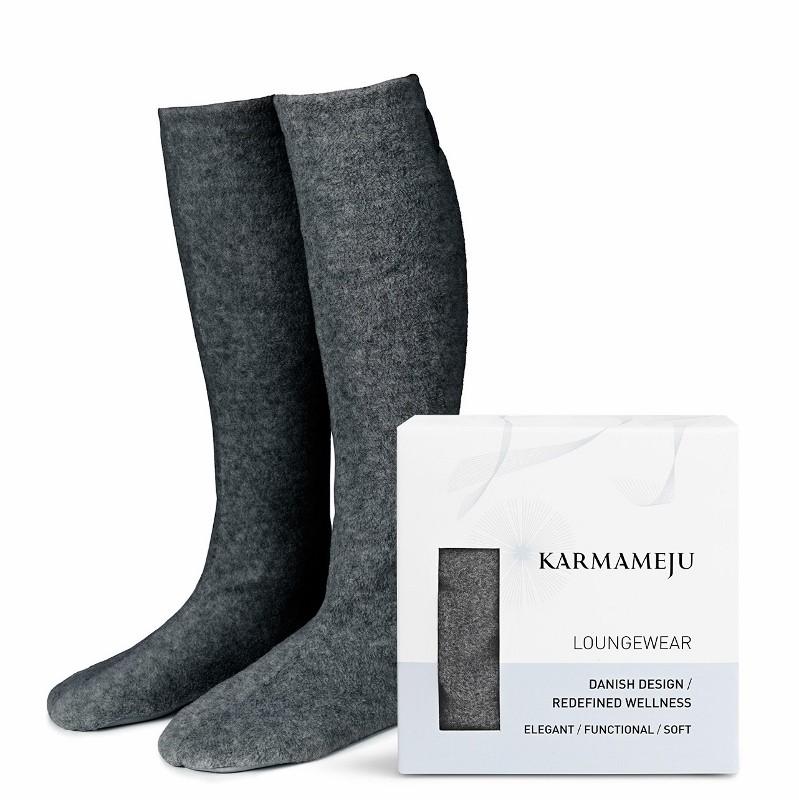 Karmameju Cozy fleece sokker-31