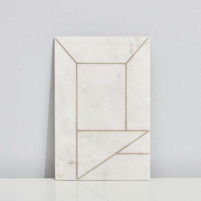 Kristina Dam Marble Perspective 20x30 cm.-31