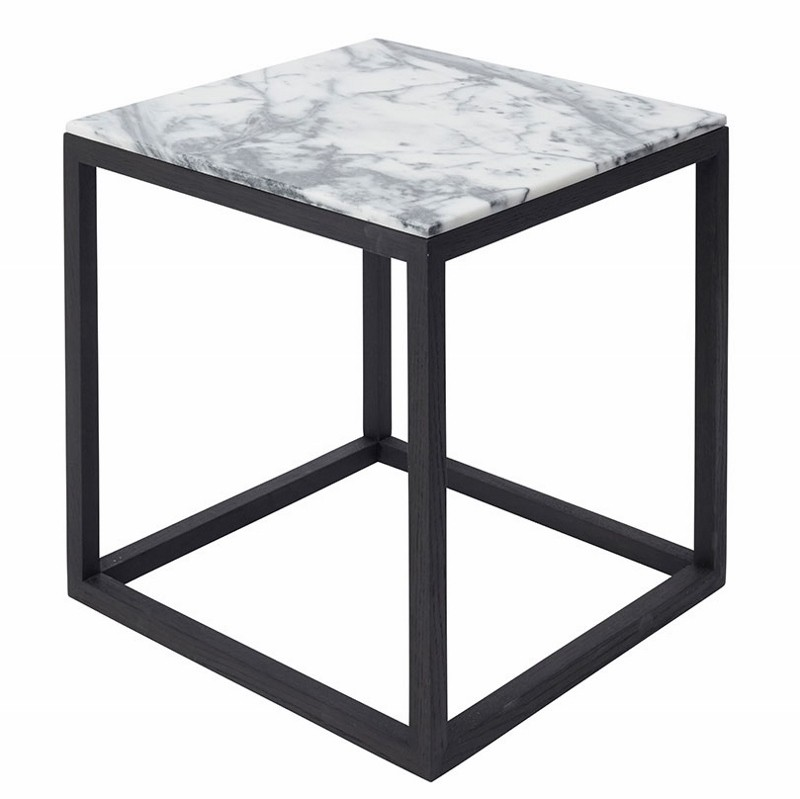Kristina Dam The Cube Bord Medium Tigerskin Marmor/Sort Eg-31