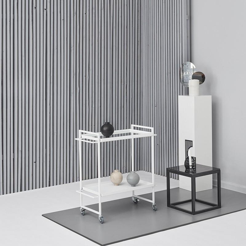 Kristina Dam Bauhaus Rullebord Hvid-31