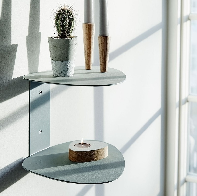 LindDNA Curve Shelf Hylde Nupo Metallic-31