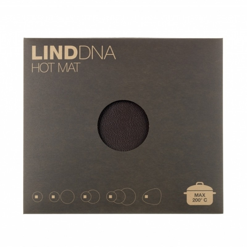 LindDNA Hot Mat Triple Moon bordskånere Antracite-31