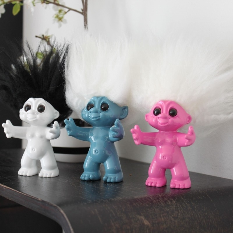 bySommer Lykketrold Pink 9 cm-31