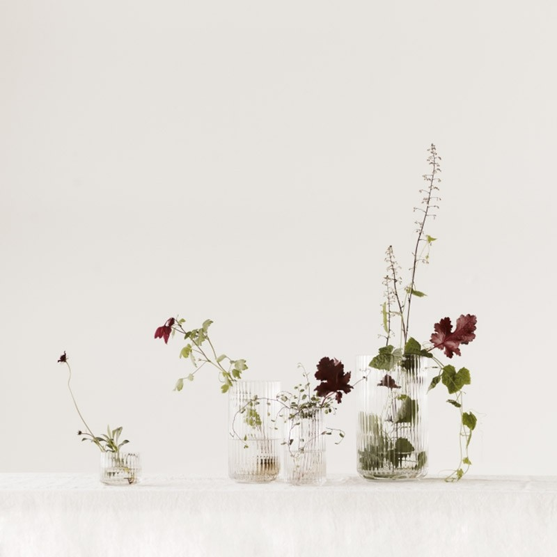 Lyngby Porcelæn Glas Vase Klar 38 cm-31