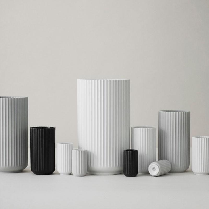 Lyngby Porcelæn Vase Sort 31 cm-31
