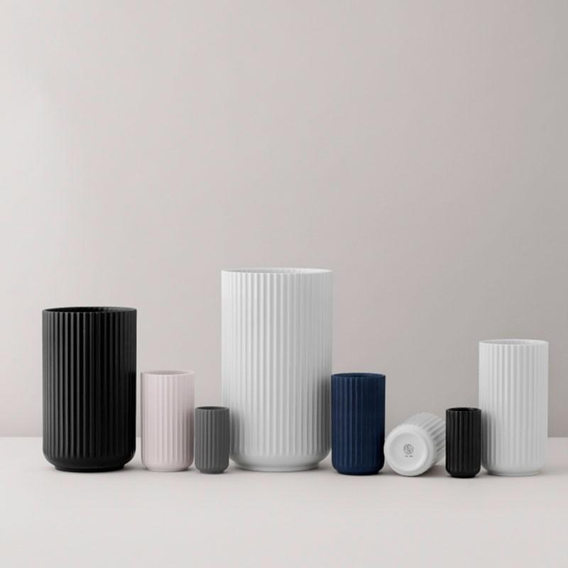 Lyngby Porcelæn Vase Sort 25 cm-31