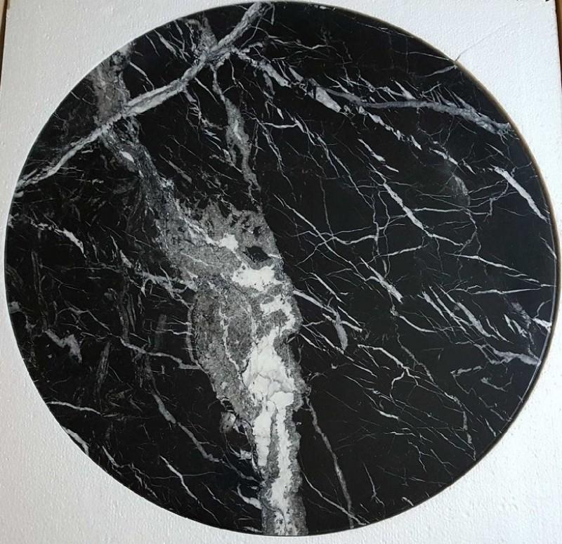 Ferm Living Marmor Sofabord Stor Sort-31