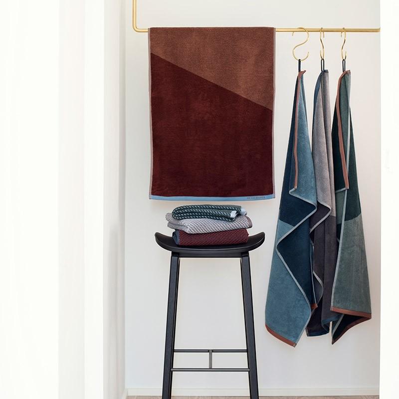 Mette Ditmer Håndklæde Shades Grå 50x95 cm-31