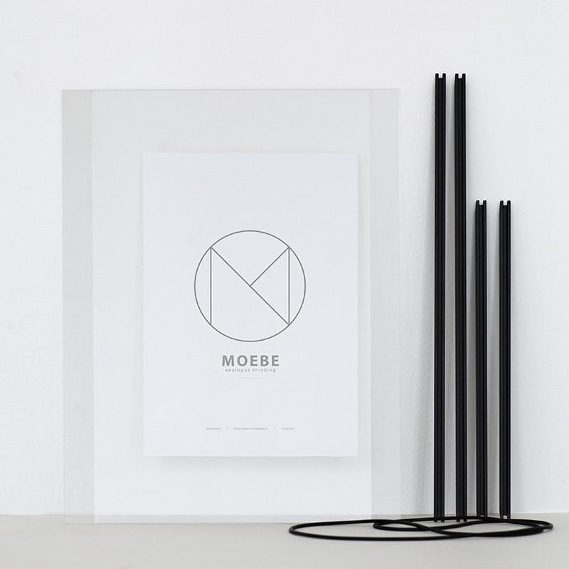 Moebe Frame Ramme Sort A5-31