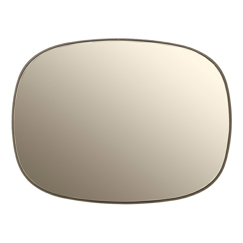 Muuto Spejl Framed Mirror Small Taupe/Taupe-31
