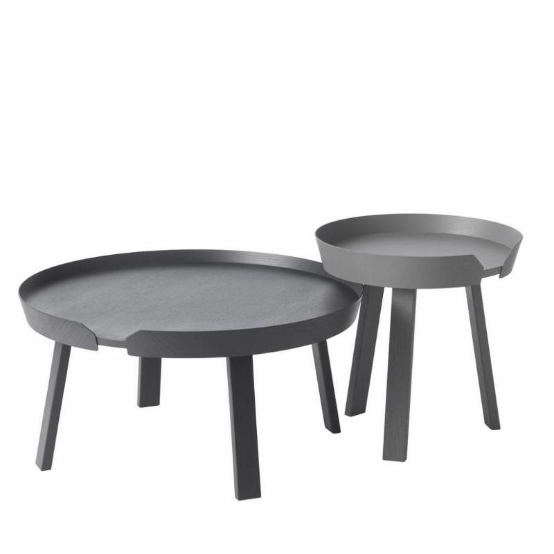 Muuto Around Sofabord Small Mørkegrå-31