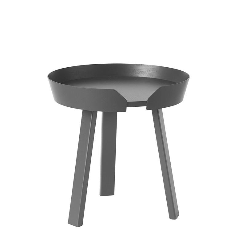 Muuto Around Sofabord Small Antracit grå-31