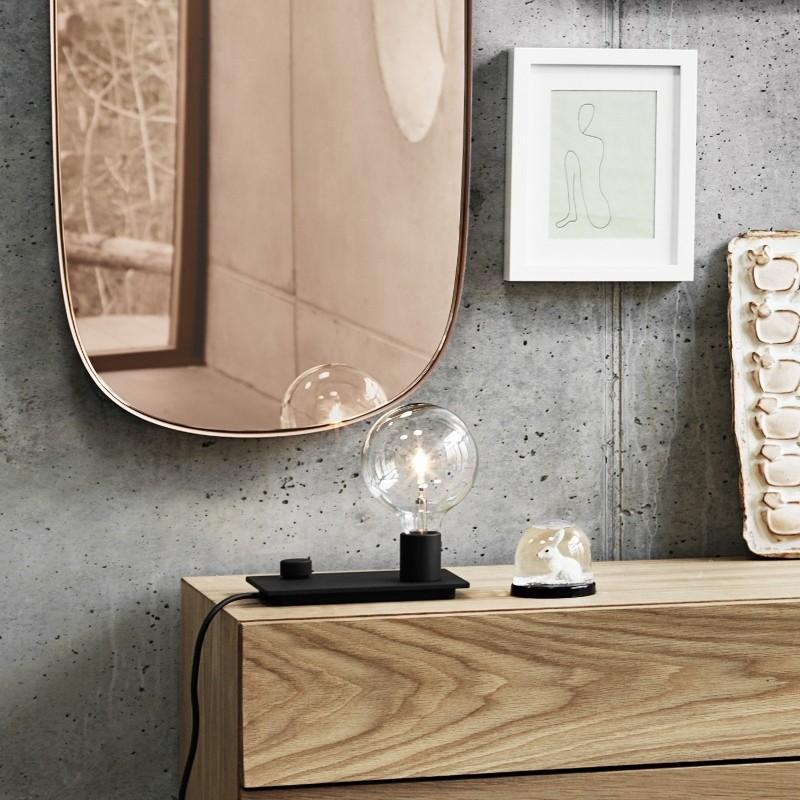 Muuto Spejl Framed Mirror Large Rose/Rose-31