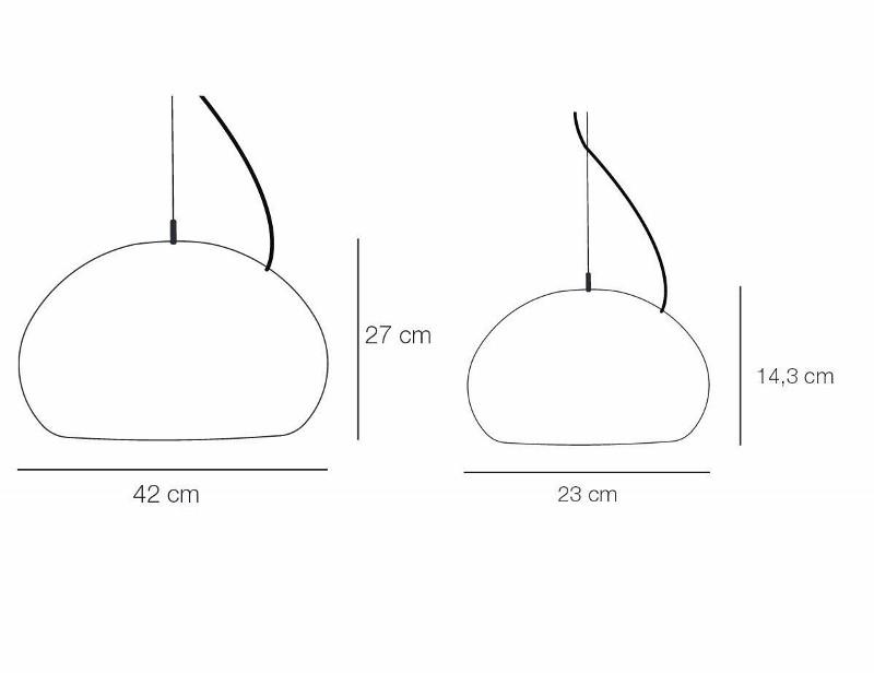 MUUTO Fluid Lampe Small Hvid-31