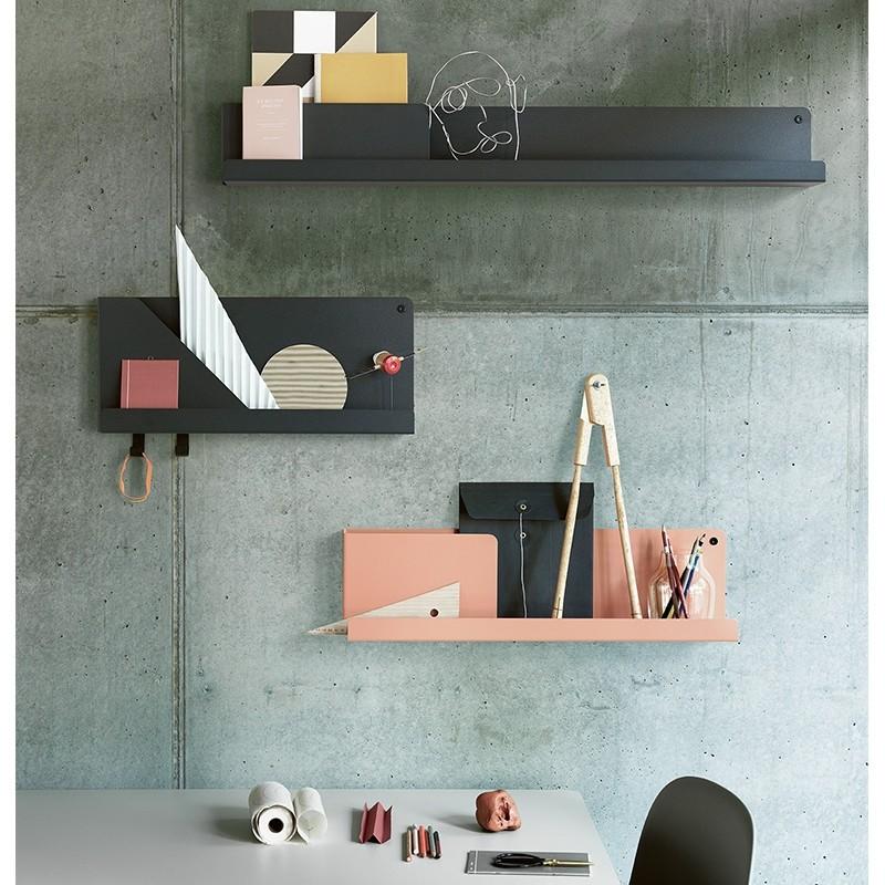 Muuto Folded Shelves Hylde Medium Grå-31