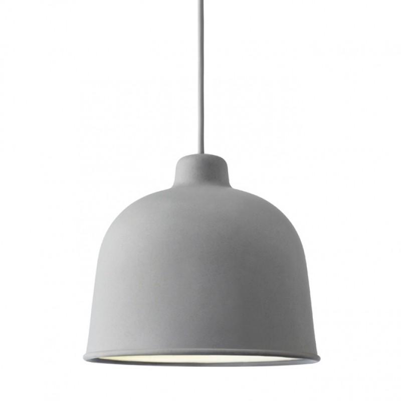 Oppdatert Køb MUUTO - Grain Pendel Lampe Grå - Hos Designme - DesignMe LB-96