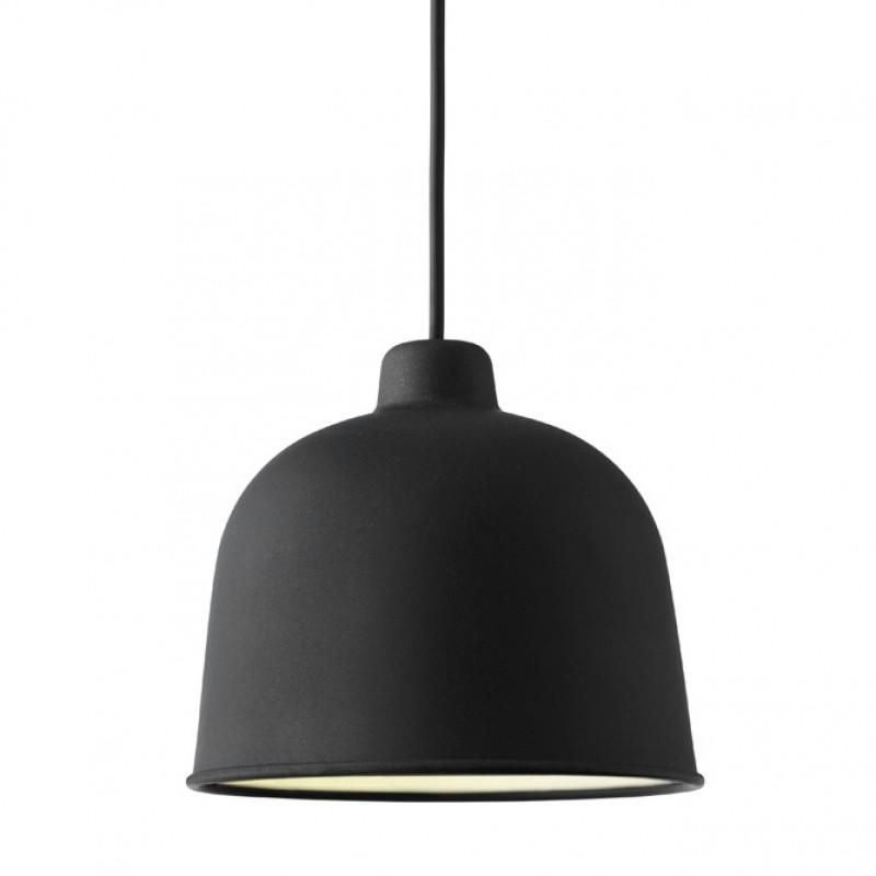 MUUTO Grain Pendel Lampe Sort-31