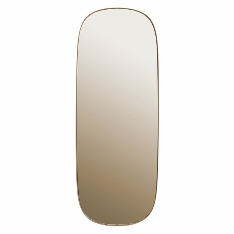 Muuto Spejl Framed Mirror Large Taupe/Taupe-31