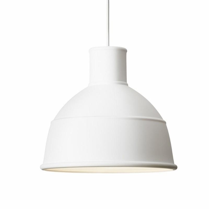 k b muuto unfold pendel lampe hvid designlampe i industrielt design designme. Black Bedroom Furniture Sets. Home Design Ideas