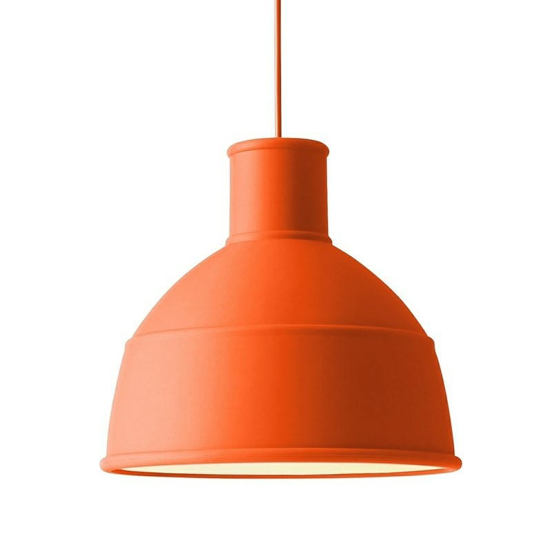 Muuto lampe Unfold Pendel Orange-31