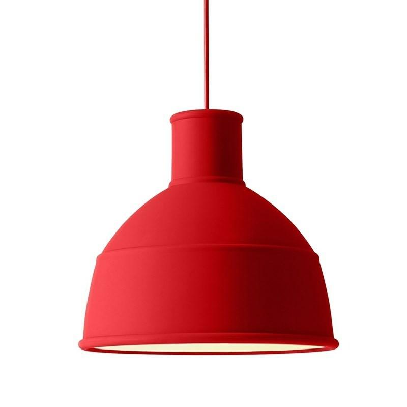 Muuto lampe Unfold Pendel Dusty Red-31