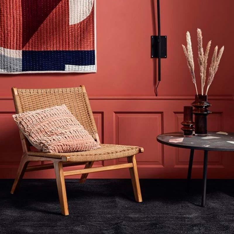 Nordal Club Lounge Stol Natur-31