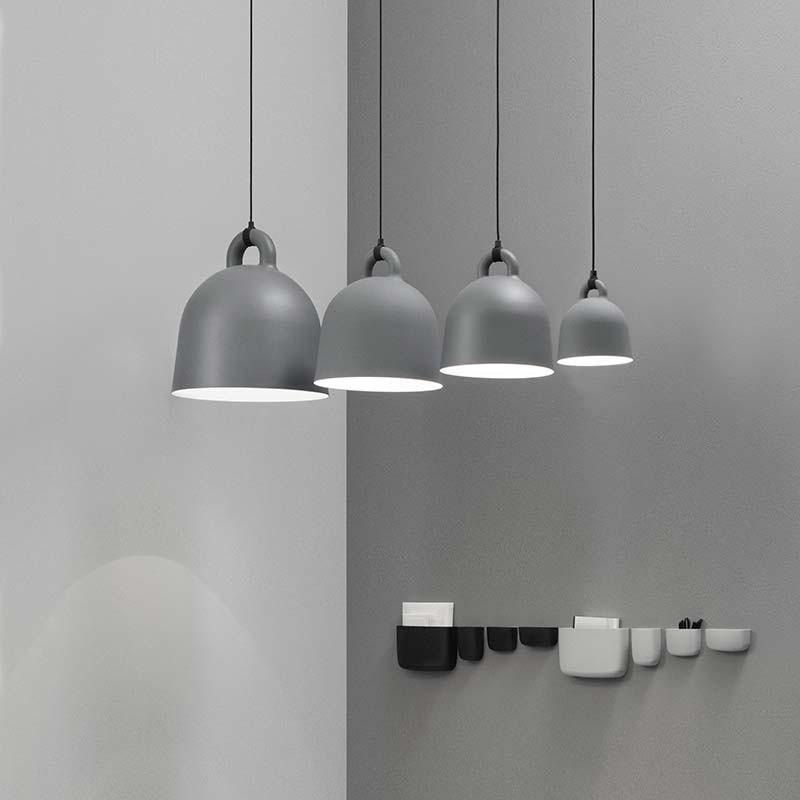 Normann Copenhagen Bell Lampe X-Small Grå-31