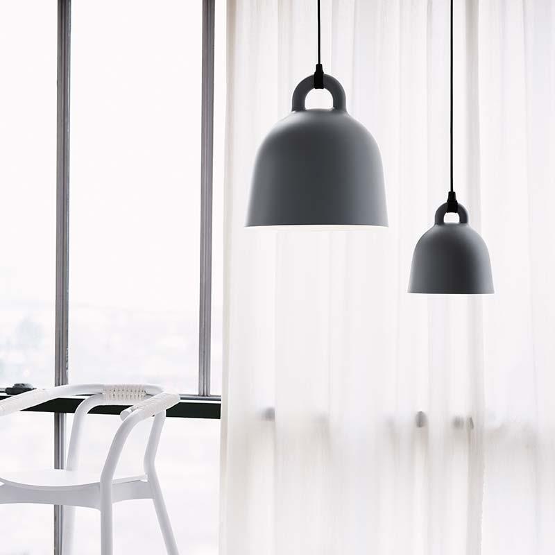 Normann Copenhagen Bell Lampe Large Grå-31